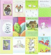 Pack Of 6 Easter Greeting Cards - 12 Styles - Mum, Kids