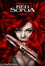 RED SONJA Movie Poster Robert Rodriquez Conan the Barbarian