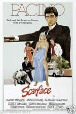 SCARFACE Movie Poster Al Pacino Gangster Drugs Brian De Palma