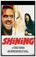 THE SHINING Movie Poster Horror Stephen King Stanley Kubrick Jack Nicholson