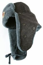 Arctic circle Soviet Army soldier ushanka winter hat. Trapper Bomber Ear Flaps