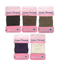 10 m Strong Linen Thread Ideal For Upholstery, Leather Work, Top Stitch, Repair