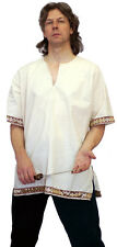 Medieval-LARP-SCA-Re enactment-ROMAN-VIKING Tunic-Shirt WITH SLEEVES - ALL SIZES