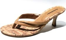 Classified Wood Flip Flops Sandals Shoes Womens (Retail $49)