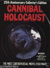 CANNIBAL HOLOCAUST Movie Poster Deodato Italian Gore Master Piece Rare
