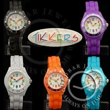 Tikkers Watch Boys & Girls Kids Children's Bright Multi Coloured Silicon Watches