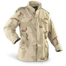 US Army Military M65 M-65 Field Jacket Tri-Color Desert G.I. Golden Mfg Sizes