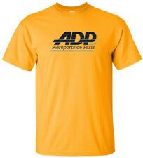 Aéroports de Paris ADP Paris Airport FRENCH Logo Vintage T-Shirt
