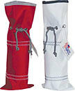 New Sailor Bags Wine Bottle Bag, made from Sailcloth, red or white
