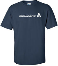 Mexicana Vintage Logo Mexican Airline Aviation T-Shirt
