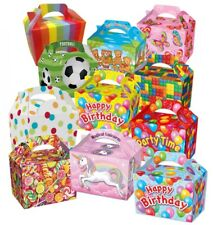 CHILDRENS ACTIVITY LUNCH MEAL BOX - FOOD GIFT BOXES - FAVOUR PARTY SUPPLIES