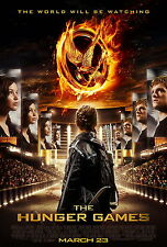 THE HUNGER GAMES Movie Poster 2012 Horror Thriller Twilight