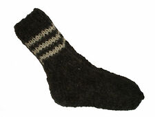 HAND KNITTED 100% WOOL SOCKS  womens/mens
