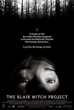 THE BLAIR WITCH PROJECT Movie Poster Horror Paranormal Activity