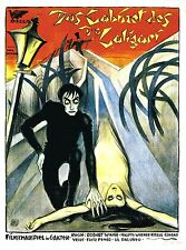 THE CABINET OF DR. CALIGARI Movie Poster 1920 Horror Classic