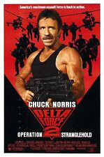DELTA FORCE 2 Movie Poster Chuck Norris