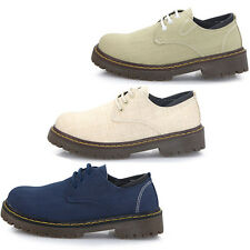 New Womens Shoes Oxfords Flats Loafers Lace Up Low Heels Multi Colored