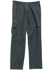 REGATTA REAPER 100% COTTON EASY CARE WALKING TRAVELING TROUSERS MULTI POCKET