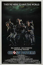 GHOSTBUSTERS Movie Poster 1984 Bill Murray Dan Akroyd