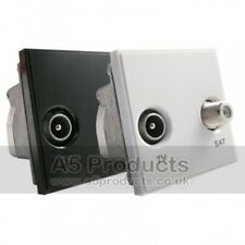 Grid Outlet Module Diplexed TV / Sat (Sky)