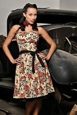 Forever Your's Strapless Dress By Folter. Pinup, Rockabilly, Psychobilly, Gothic
