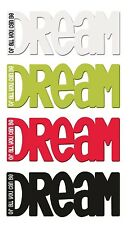 Magnetic Kitchen Word Fridge Magnet Dream Of All You Can Be Splosh Home Gifts