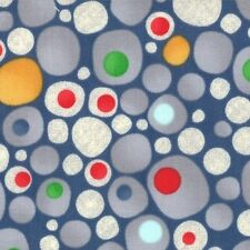 Ten Little Things Dot Dots Circle Rock Cotton Novelty Print Quilt Fabric Moda