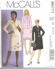 McCall's 4771 Misses'/Miss Petite Tops and Skirts  Sewing Pattern