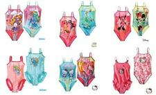 New Girls CHARACTER Swimsuit Swimming Costume Swimwear 2 3 4 5 6 7 8 9 10 Years