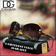 DG EYEWEAR NEW WOMENS AVIATOR SUNGLASSES OVER-SIZED LARGE FASHION TRENDY SHADES