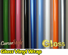 【GLOSS】Vehicle Wrap Vinyl Sticker 【1.52Meter width】 SMALL SIZE Air /bubble Free