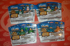 DISNEY CLUB PENGUIN 2in MIX N MATCH FIGURE PACK - SERIES 10/11