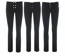 NEW MISS SASSY GIRLS SKINNY LEG STRETCH  SCHOOL TROUSERS SIZES 6 8 10 12 14