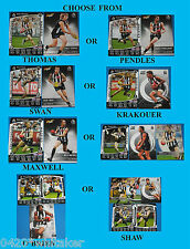 2012 Teamcoach Collingwood Common Player Cards + Select extras