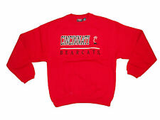 CINCINNATI BEARCATS ADULT EMBROIDERED RED V-NOTCH CREW SWEATSHIRT NWT