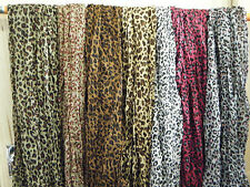 ANIMAL LEOPARD PRINT LADIES SCARF SHAWL WRAP VARIOUS COLOURS DESIGNS FREE UKPOST