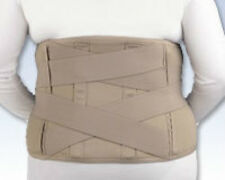 "Lumbar Sacral Support Abdominal Belt 11"" Back Pain Wrap contoured Stays FLA"