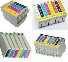 Full Set Compatible Chipped Ink Cartridges for Epson Stylus