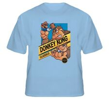 Donkey Kong Mario Retro NES Video Game T Shirt