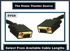 Long Super/S-VGA CL2 In-Wall PC Computer Laptop Monitor Male/M Cable Wire Cord
