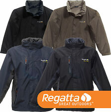 Regatta Isotex 5000 Windfall Stretch Jacket Waterproof Breathable & Logo S - 4XL