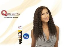 """Que by MILKY WAY 100% HUMAN HAIR MASTERMIX NATURAL SUPER WEAVE 14"""" Shake-N-Go"""