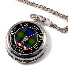 Gunn Scottish Clan Pocket Watch