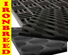 "2""x43x66 inch Acoustic Foam Pattern Wall Soundproofing Ceiling Panels Tiles 40sf"