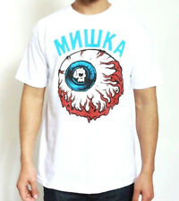 MISHKA THE LAMOUR KEEP WATCH TEE IN WHITE AUTHENTIC SUPREME IMPORTED FROM USA