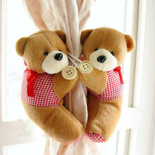 Pair Cute Baby Nursery Curtain Tie Backs - Bear Monkey Flower - New