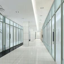 Frosted White Window Film Privacy Glass Vinyl Tint Self Adhesive Width 90cm