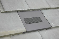 Redland Stonewold Mk2 Vent Tile Roof Ventilation + Optional Pipe Adaptor + Pipe