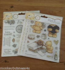 Forever Friends - Black & Gold - Clear Stamps - 6x6 - Birthday - Occations