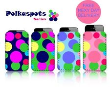 'POLKASPOTS' (N2) Mobile Phone Case/Pouch for SAMSUNG GALAXY NOTE 2 (NOTE II)